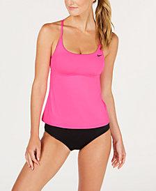 Nike Cross-Back Tankini Top & Hipster Bikini Bottoms