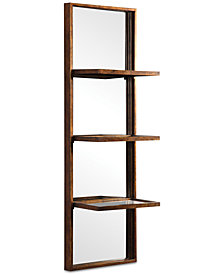 Uttermost Dalis Mirrored Wall Shelf