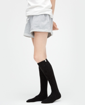 Ugg Women's Shaye Rain Boot Socks In Black