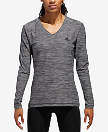 adidas Long-Sleeve Tech T-Shirt