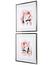 Uttermost Soft Speak Abstract Prints, Set of 2