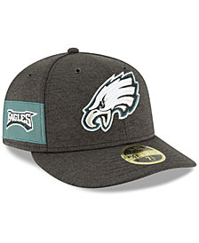 New Era Philadelphia Eagles On Field Low Profile Sideline Home 59FIFTY FITTED Cap