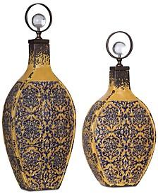 Uttermost Katelyn Ceramic Vessels, Set of 2