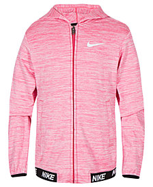 Nike Little Girls Zip-Up Hoodie