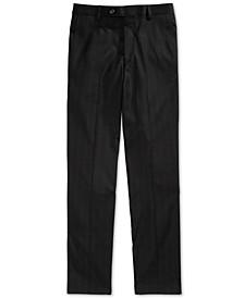 Big Boys Windowpane Suit Pants