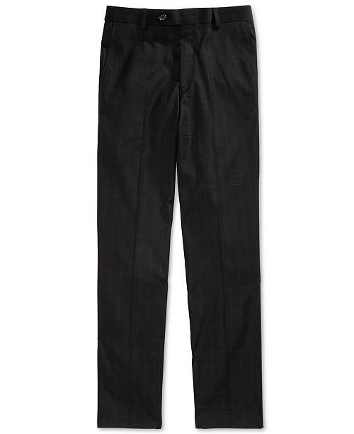 Lauren Ralph Lauren Big Boys Windowpane Suit Pants