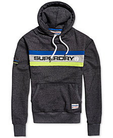 Superdry Men's Trophy Logo Band Hoodie