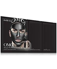 OMG! Man In Black Peel Off Mask