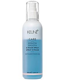 CARE Keratin Smooth 2-Phase Spray, 6.8-oz., from PUREBEAUTY Salon & Spa