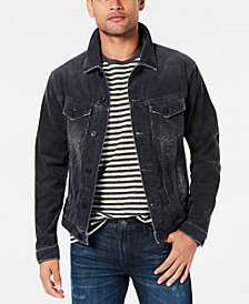 Jack & Jones Men's Corduroy Trucker Jacket