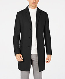 Hugo Boss Men's Slim-Fit Overcoat