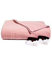 Comfort Knit Fleece Electric Queen Blanket