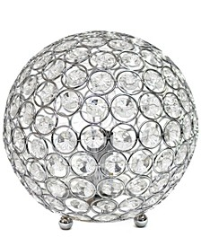 Elegant Designs Crystal Ball Sequin Table Lamp