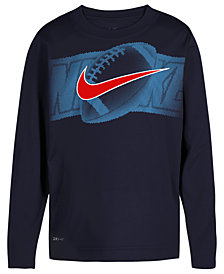Nike Toddler Boys Football-Print T-Shirt
