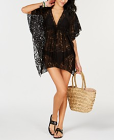 Becca Embellished Lace Cover-Up