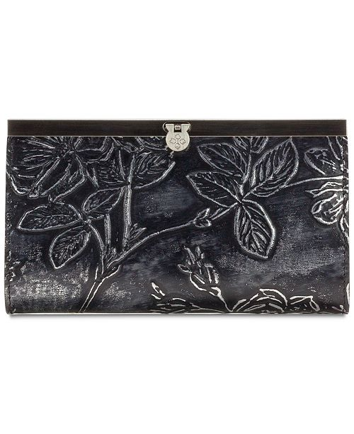 Patricia Nash Cauchy Metallic Embossed Leather Wallet, Created for Macy's