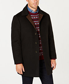 Lauren Ralph Lauren Men's Classic-Fit Ladd Tech Down Filled Black Solid Coat