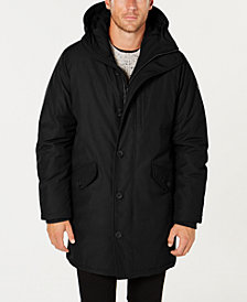 Michael Kors Men's Modern-Fit Hooded All Weather Anorak Raincoat