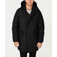 Macys deals on Michael Kors Mens Modern-Fit Hooded All Weather Anorak Raincoat