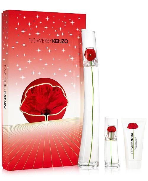 752fc3bc Kenzo 3-Pc. Flower By Kenzo Eau de Parfum Gift Set & Reviews - All ...