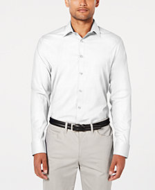 Ryan Seacrest Distinction™ Men's Modern-Fit Stretch Shirt, Created for Macy's