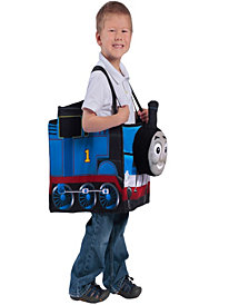 Thomas the Tank Engine Ride in Train Kids Costume