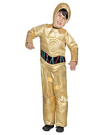 Classic Star Wars Premium C-3Po Jumpsuit Kids Costume