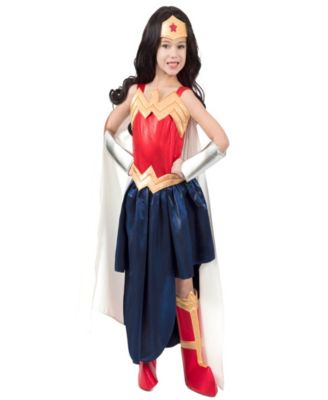 main image ...  sc 1 st  Macyu0027s & BuySeasons Super Hero Premium Wonder Woman Halloween Costume - All ...