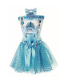 Blue Princess Girls Costume Kit