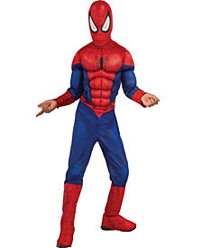 Ultimate Spider-Man Muscle Chest Boys Costume