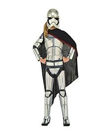 Star Wars Deluxe Captain Phasma Girls Costume