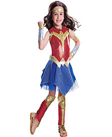 Wonder Woman Movie - Wonder Woman Deluxe Girls Costume