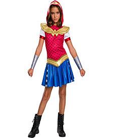 Dc Super Hero Wonder Woman Hoodie Girls Dress