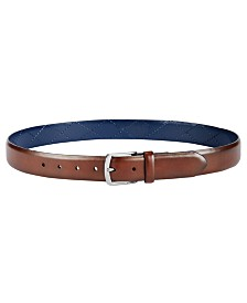 Tommy Hilfiger Men's Vachetta Creased Reversible Casual Belt