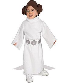 Star Wars Princess Leia Fleece Toddler Girls Costume