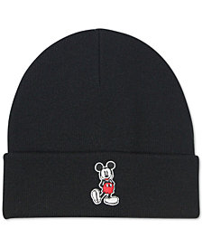 Block House Men's Mickey Mouse Cuffed Beanie