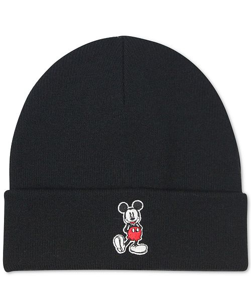 98cc1f4d4abab Block Hats Block House Men s Mickey Mouse Cuffed Beanie   Reviews ...