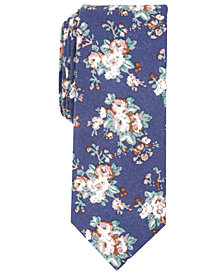 Penguin Men's Babcock Floral Skinny Tie