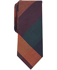 Tallia Men's Magrath Check Slim Tie
