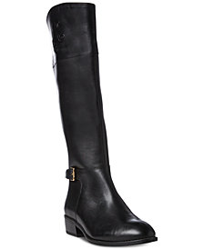 Lauren Ralph Lauren Madisen Wide Calf Riding Boots