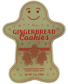 R.H. Macy & Co. Gingerbread Cookie Tin, Created for Macy's