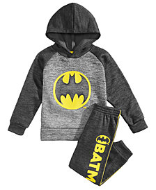DC Comics Toddler Boys 2-Pc. Batman Graphic Hoodie & Pant Set