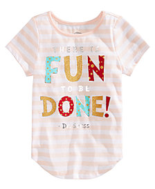 Hybrid Toddler Girls Dr. Seuss Graphic-Print T-shirt