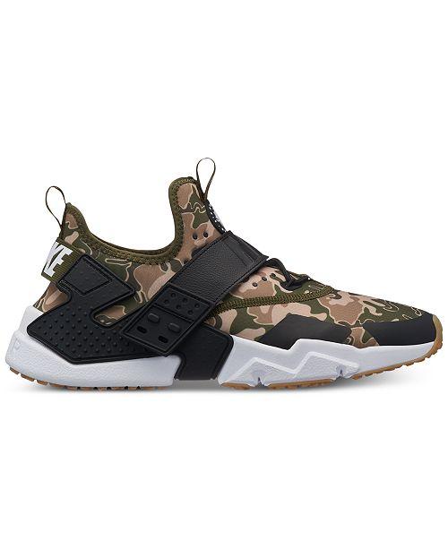 067e141ba0061 ... Nike Men s Air Huarache Run Drift Premium Casual Sneakers from Finish  Line ...