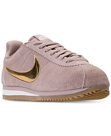 2c7edab6b4bd Nike Women s Classic Cortez SE Casual Sneakers from Finish Line
