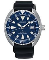 eb6a6f79c92 LIMITED EDITION Seiko Men s Automatic Prospex Black Silicone Strap Watch  42.3mm