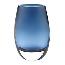Badash Crystal Crescendo Midnight Blue Vase