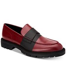 Calvin Klein Men's Florentino Box Leather Loafers