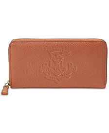 Lauren Ralph Lauren Huntley Zip Around Wallet