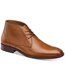 Johnston & Murphy Men's Sanborn Chukka Boots